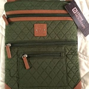 Stone Mountain Lockport Quilted Crossbody Bag